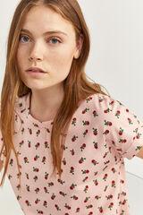 Springfield Camiseta Gráfica rosa