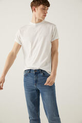Springfield Camiseta básica logo blanco
