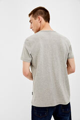 Springfield Camiseta manga corta panadero gris