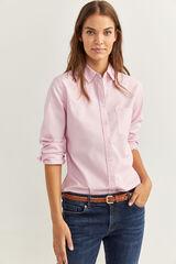 Springfield Camisa Oxford roxo