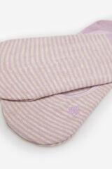Springfield Calcetín invisible rayas rosa