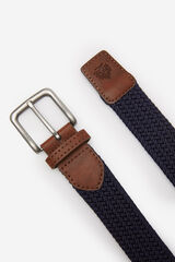 Springfield Cinturón trenzado azulado