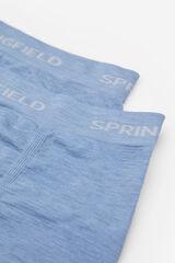Springfield BOXER SIN COSTURAS azul acero