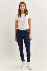 Springfield Jeans Jegging Lavado Sostenible azul royal