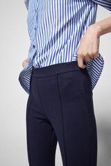 Springfield Pantalón legging nervio azul mezcla
