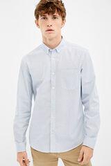 Springfield Camisa estampada blanco