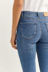 Springfield Jeans Jegging Lavado Sostenible azul acero