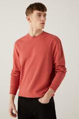 Springfield Sweatshirt caixa básica morango