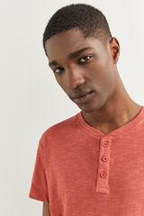 Springfield T-shirt oversize vermelho