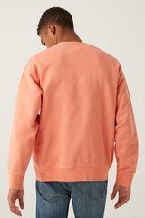 Springfield Sweatshirt básica de gola redonda terracotta