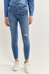 Springfield Jeans Slim azul acero