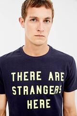 Springfield Camiseta manga corta strangers azul