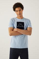 Springfield T-shirt logo kappa azul indigo