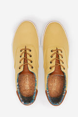 Springfield Zapatilla cordones algodón skate amarillo