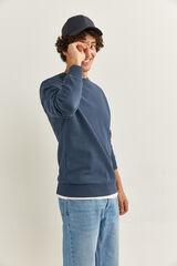 Springfield Sweatshirt gola caixa azulado
