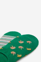 Springfield Pack calcetines monos verde oscuro