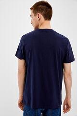Springfield Camiseta manga corta springfield azulado