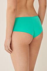 Womensecret Cueca biquíni culotte lisa verde
