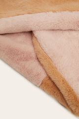 Womensecret Cuello pelo bicolor rosa