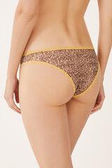Womensecret Braguita brasileña mesh amarillo