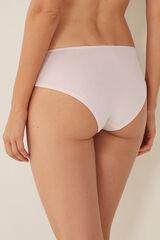 Womensecret Braguita culotte algodón rosa