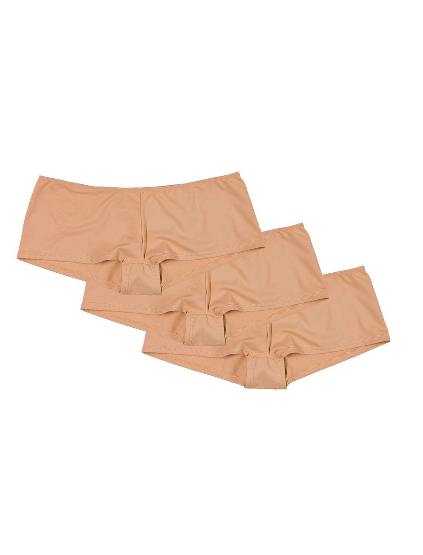 07ffa9171c Womensecret Pack 3 culottes microfibra nude