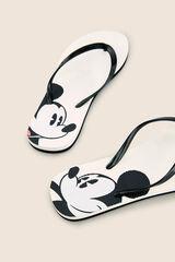 Womensecret Pack chanclas y neceser Mickey beige