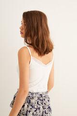 Womensecret Camiseta tirantes  beige