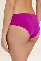 Womensecret Cuecas biquíni culotte lisas rosa
