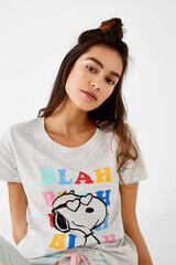 Womensecret Camiseta Snoopy  estampado