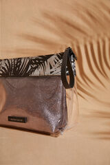 Womensecret Pack 2 neceseres estampado tropical gris
