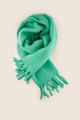Womensecret Bufanda flecos verde