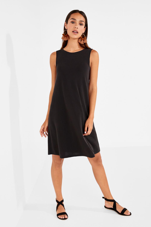 1193b27decb Womensecret Vestido midi liso negro · Comprar