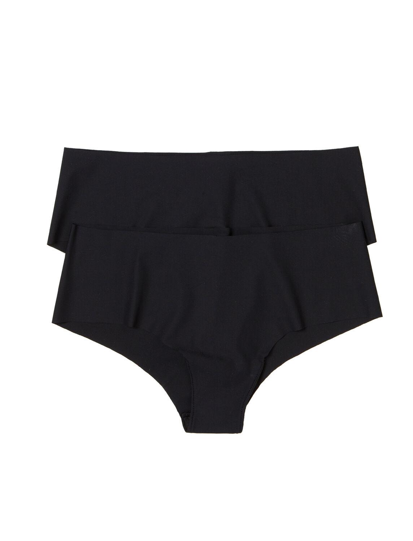 43dbf7e3dc Womensecret Pack 2 culottes sin costuras negro
