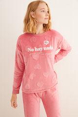 Womensecret Pijama comprido rosa  rosa