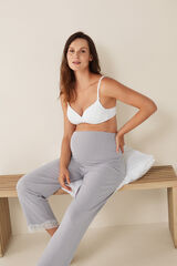 Womensecret Pantalón maternity rayas azul