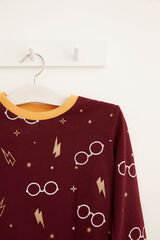 Womensecret Pijama comprido kids Harry Potter marrom