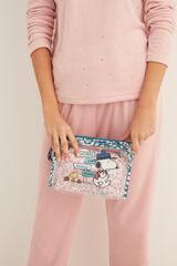 Womensecret Pack 2 nécessaires Snoopy rosa
