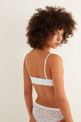 Womensecret NATURAL Bralette guipur blanco