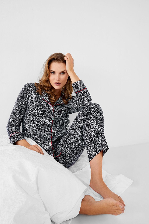 79e0b3f341 Womensecret Pijama largo camisero flores estampado