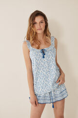 Womensecret Pijama corto paisley estampado
