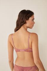 Womensecret Soutien push-up renda rosa