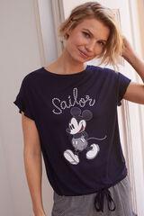 Womensecret Pijama corto Mickey 'Sailor' azul