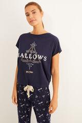 Womensecret Pijama comprido Harry Potter azul azul