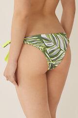 Womensecret Braga bikini brasileña palmeras verde