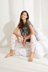 Womensecret Pijama manga corta Supernenas gris gris