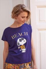Womensecret T-shirt Snoopy azul