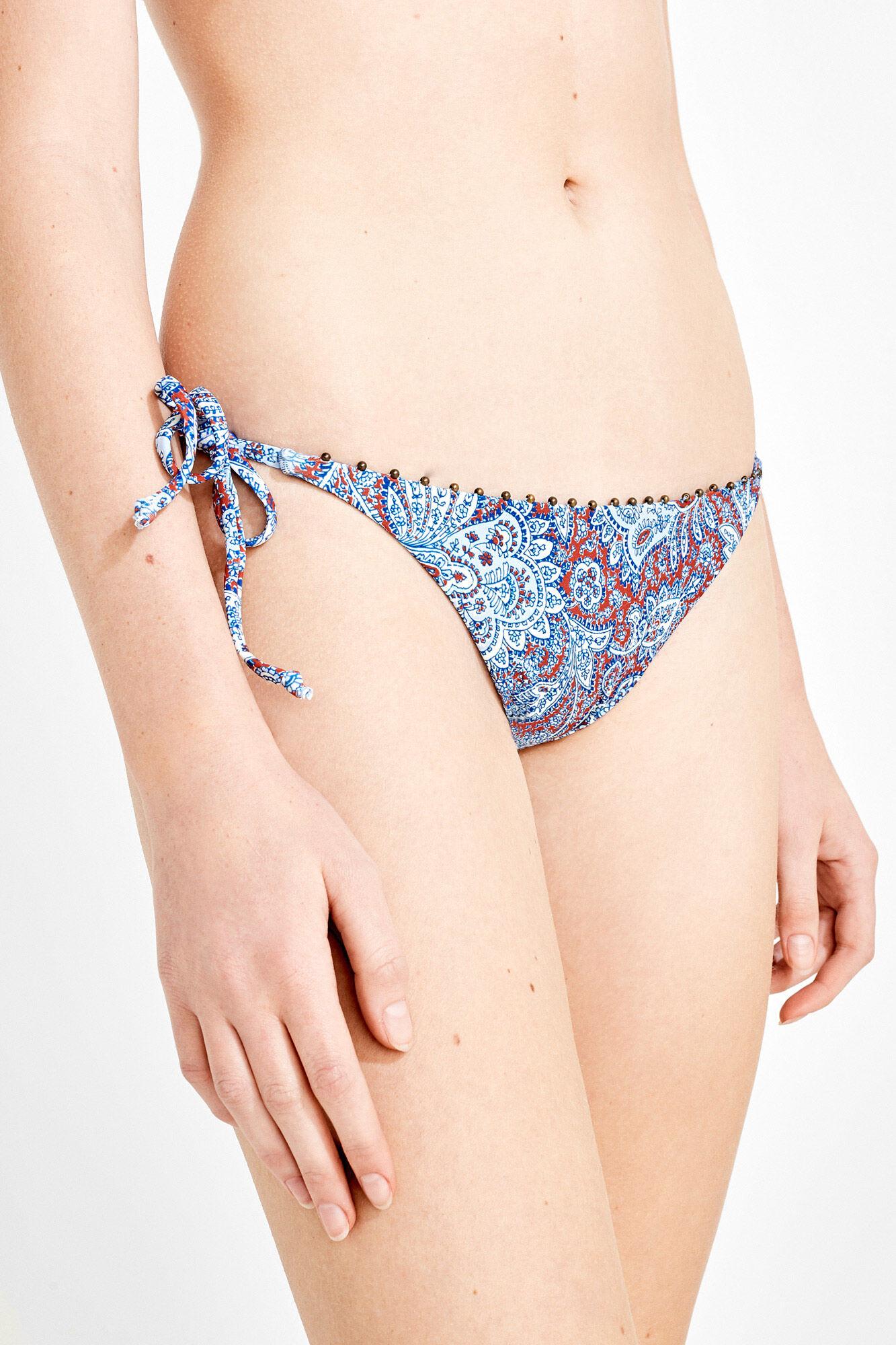 Media Paisley Reversible De Braga Bikini 7g6fby