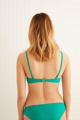 Womensecret Top bikini hebillas carey verde