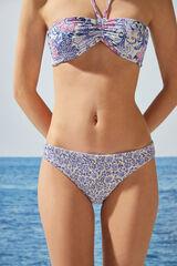 Womensecret Braga bikini clásica reversible flores rosa